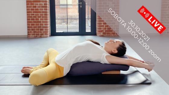 Restorative Yoga - sztuka świadomej relaksacji